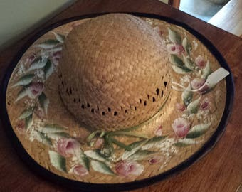 Hand Painted Straw Hats