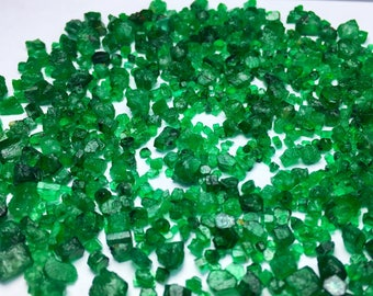 150 Carates Very Beautiful Small Size Facet Rough Cut Grade Emerald Lot With Beautiful Color and Luster From Pakistan Swat.