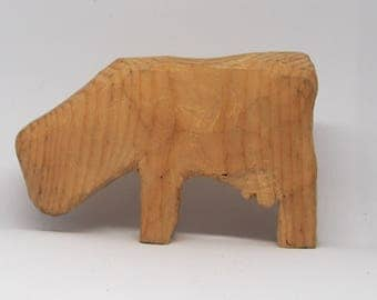 Animal Cow wooden Toy