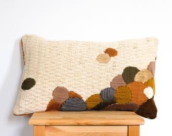 "Embroidered cushion ""Joshua Tree"""
