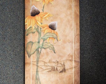 Tuscan Sunflower Canvas