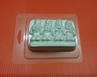 The Casting, Girls,Soap mold, Icetray, Form for chocolate, Clean, Beautiful,  The Bathing suit, Bikini