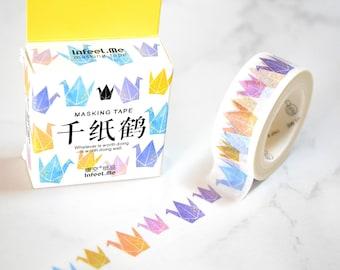 Paper crane Masking Tape , Washi Tape Sticker,  Scrapbook Supplies