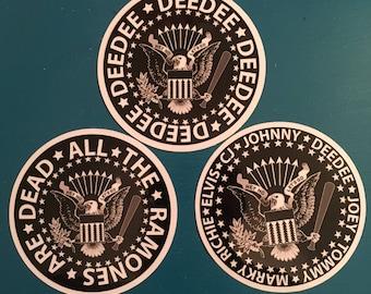 Ramones Stickers