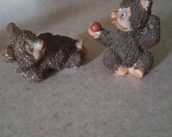 brown bear salt and pepper shakers occupied Japan