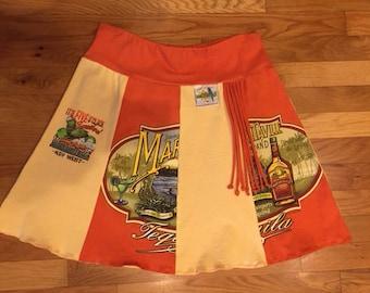 Margaritaville Tee Shirt Skirt