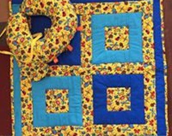 Bugs Baby Quilt Set