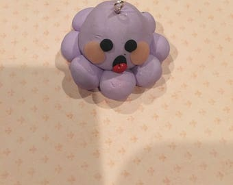 Cute Lavender Octopus