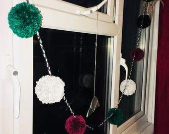 Pom Pom garland - multiple colours available