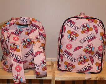 Lets Take to the Skies -Skye  Toddler Backpack