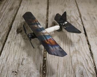 Metal Spark Plug Airplane