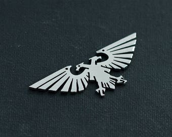 Small Aquila stainless steel pendant