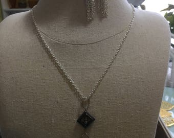 Black Angles necklace