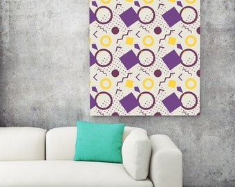 Abstract Geometric Patterns Poster