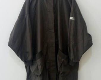 RARE!!!! Vtg 80s ISSEY MIYAKE iM miyake design studio trech coat jacket yohji yamamoto comme des garcons kansai top japan designer