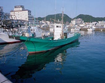 Fishing Boat in Katsuura Harbor