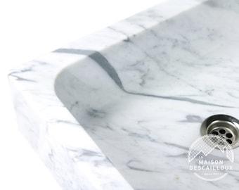 Bowl for Rectangle - Carrara marble
