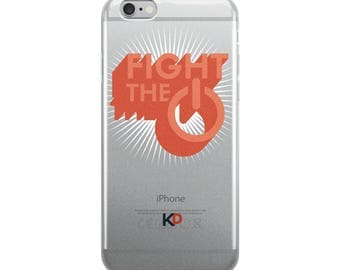 FIGHT THE POWER - iPhone Case