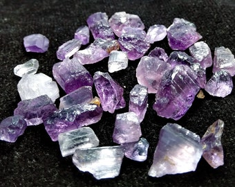 63.75 CT Unheated & Natural Purple Scapolite Rough Stone Lot