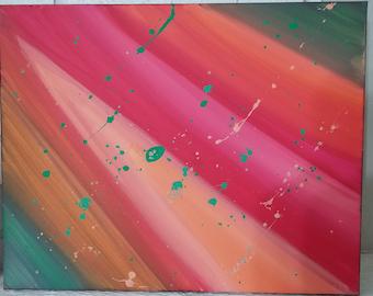 Music Energy Acrylic Painting