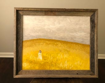 Golden Fields 16x20 Canvas Painting