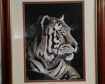 Original Bengal Tiger at Sunrise