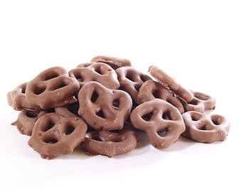 Delicious Chocolate Covered Pretzels - Home Made