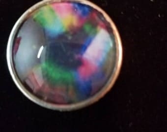 Photo dangle or post earrings 10mm hypo allergenic