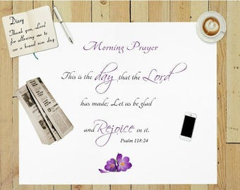 This is the day that the Lord has made, Psalm 118:24, bible verse prints for christian home or office wall decor, digital art christian gift
