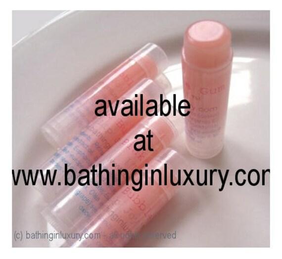 Pink Bubblegum Handmade Lip Gloss-Balm - VEGAN Stocking stuffer teen gift idea teen girl gift