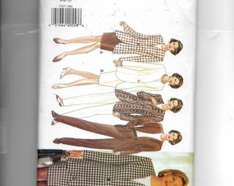 Butterick Misses'/ Miss Petite Jacket,  Skirt, Top and Pants Pattern 3767