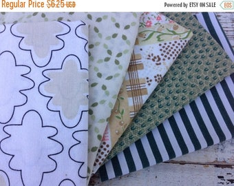 40% OFF- Fat Quarter Bundle-Reclaimed Bed Linens -In the Forest