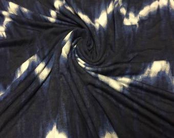 Stretch Jersey  Knit Tie Dye 2 Yards