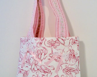 Pink Ballet Shoes Purse