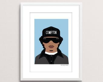 Eazy E Print