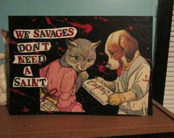 Savages {Original Collage}