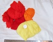Short Fiber Merino Sun pack - 4 3/4 oz, reds and yellow