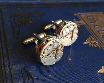 Watch Gear Cufflinks