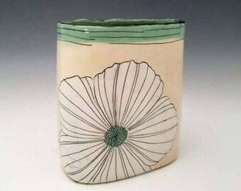 Large Ceramic Vase Porcelain Modern Pottery