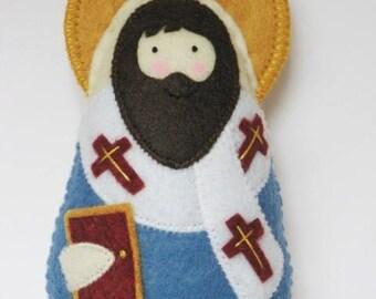 Saint Ambrose Felt  Saint Softie