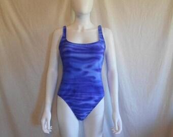 SALE 25% off SALE 90's  swimsuit bathing suit  one piece   size 12