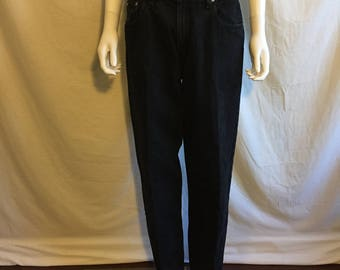 90s Levis Silver Tab  Waist W 32    size medium 13/14 womens mom jeans high waisted tapered leg