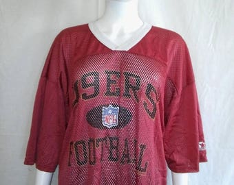 SAN FRANCISCO 49ers Football Jersey Xxl