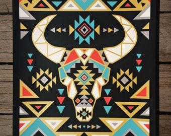 Southwestern Spirit - Hand Printed Art Print - 16x20