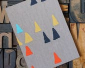 Accordion Photo Album with Abstract Triangles - 14 photos