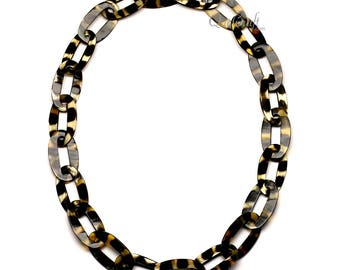 Horn Chain Necklace - Q12590