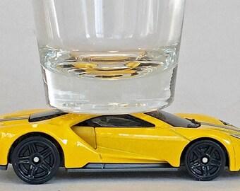 The ORIGINAL Hot Shot, Classic Hot Rods, Shot Glass, 2017 Ford GT, Hot Wheel car