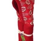 Cincinnati Reds red hooded towel