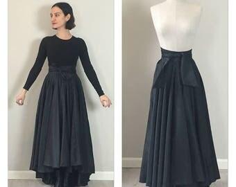 Vintage 50s handmade swing skirt  SMALL
