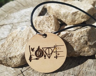 Hogwarts Wizard Love pendant Necklace